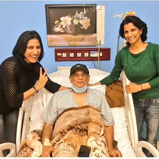 Sushant Singh Rajput's father KK Singh's pic from hospital goes viral, 'SSR-ians' wish speedy recovery