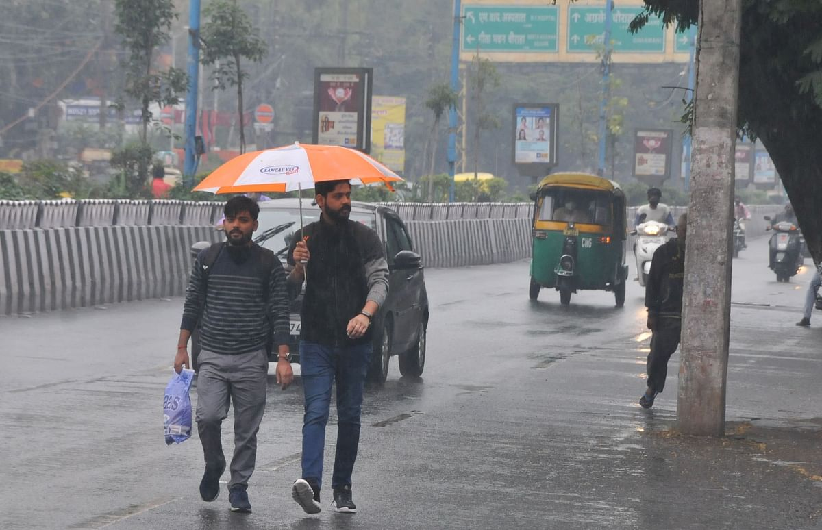 Drizzle in Indore on Sunday