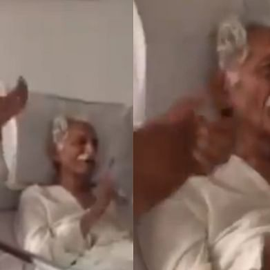 Watch: Video of late MDH owner Mahashay Dharampal Gulati singing patriotic song in hospital leaves internet teary-eyed