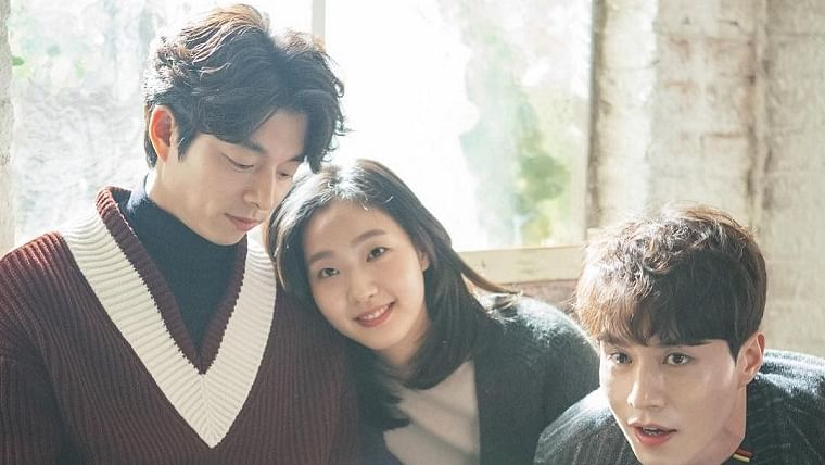 Gong Yoo, Kim Go-eun and Lee Dong-wook in Guardian: The Lonely and Great God