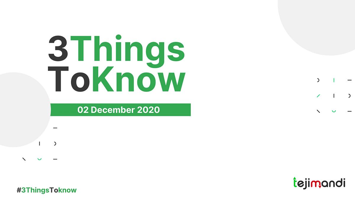 Teji Mandi: Three things investors should know on December 2, 2020