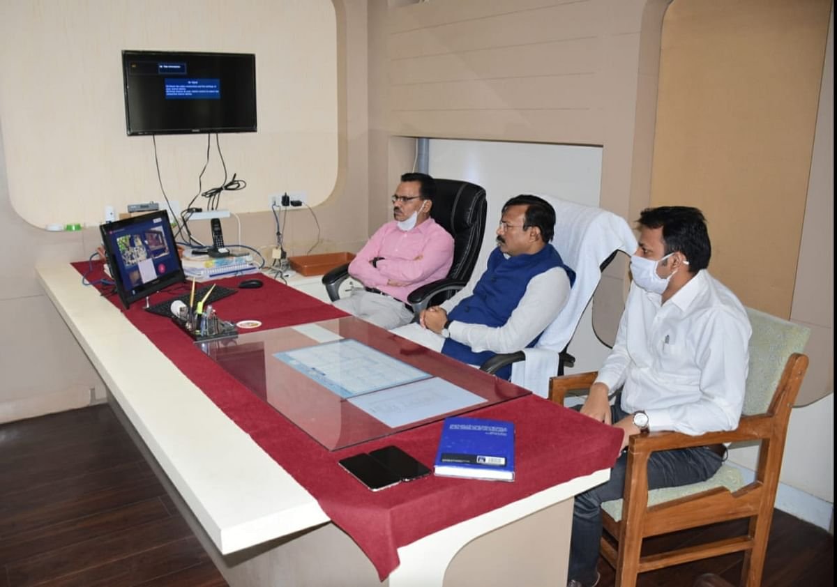 Virtual meeting in Barwani