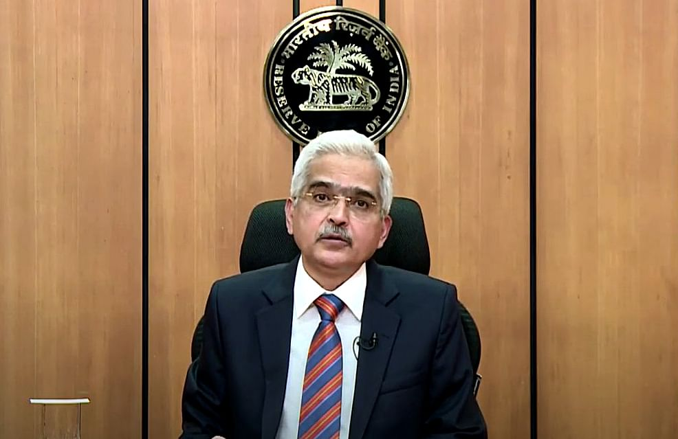 RBI Governor Shaktikanta Das/ File