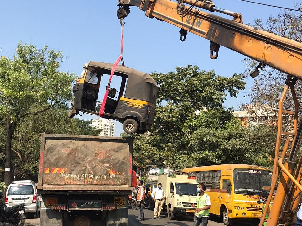 Around 5,000 scrap vehicles to be auctioned by Thane traffic police