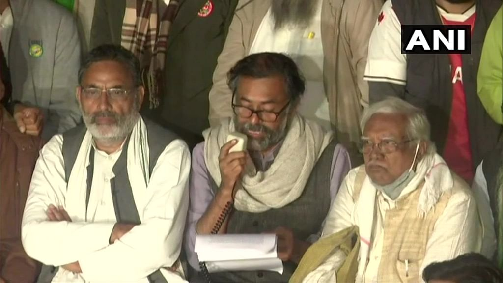'Centre holding talks with farmer leaders not associated with the movement': Yogendra Yadav