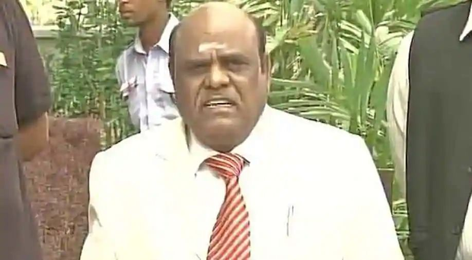 C S Karnan, former judge of the Madras and Calcutta High Courts