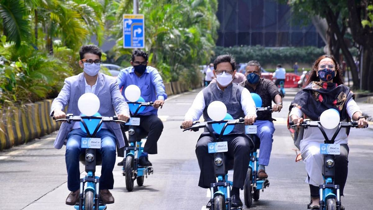 Public E-bike service at BKC sees an increase in ridership