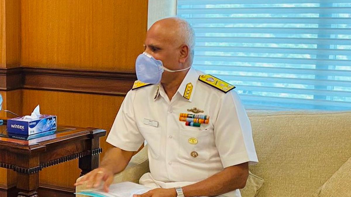 Vice Admiral Srikant
