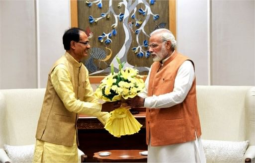 Madhya Pradesh: Prime Minister  Narendra Modi takes feedback from Chief Minister Shivraj Singh Chouhan on readiness for vaccination