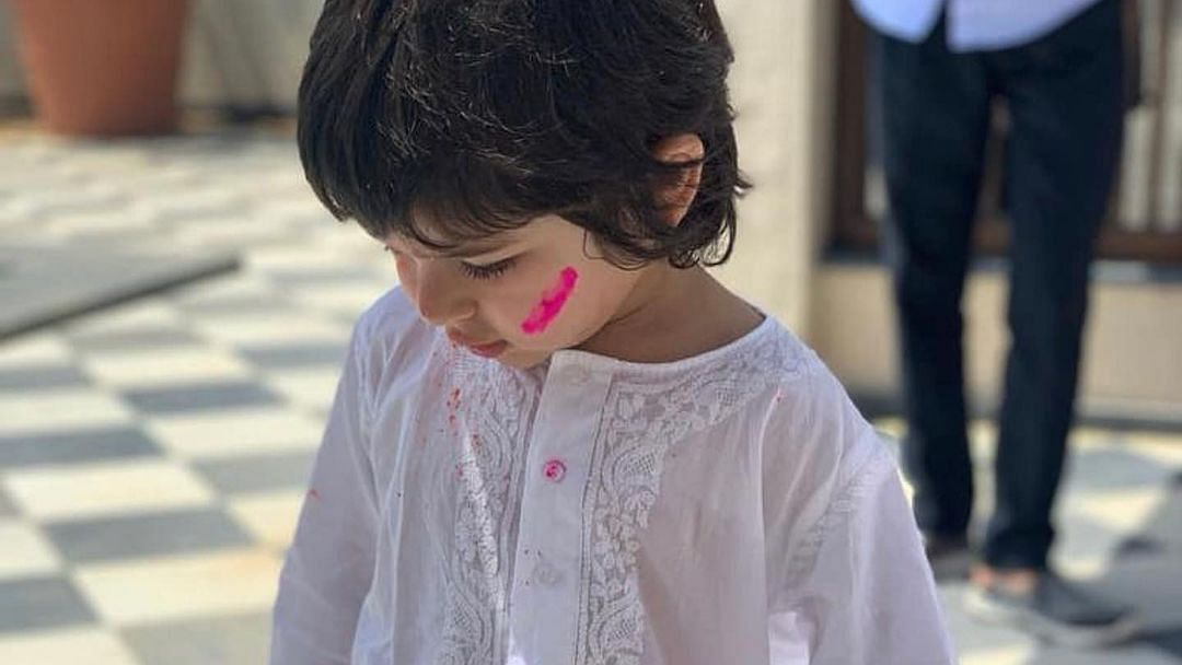 Taimur Ali Khan turns 4: Karisma Kapoor, Soha Ali Khan, Saba Pataudi share sweet birthday wishes for Tim Tim