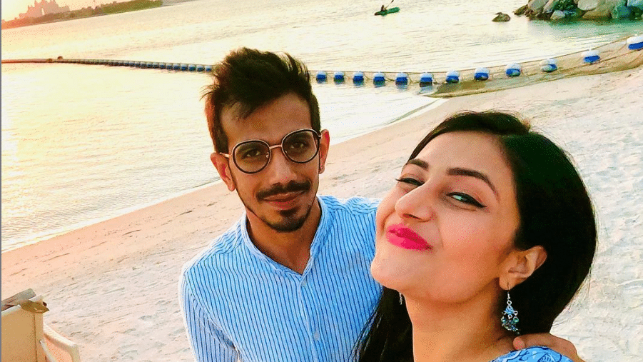 'Selfie pro' Yuzvendra Chahal shares adorable picture with fiance Dhanashree Verma ahead of 3rd ODI against Australia