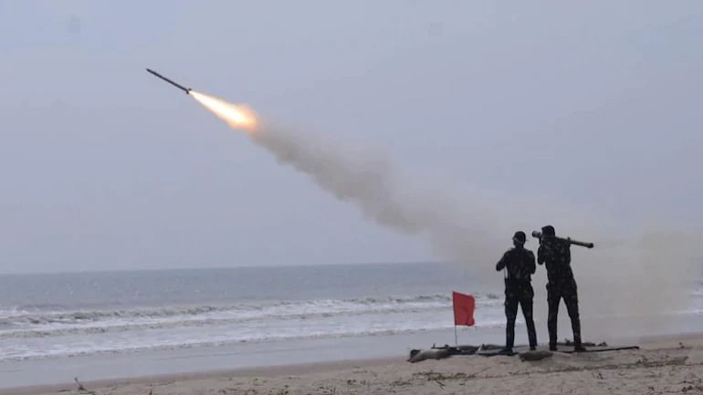 Akash surface-to-air missile