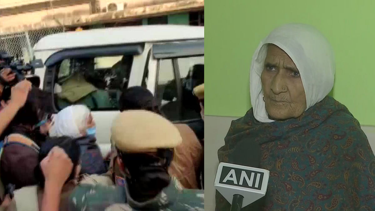 Delhi: Cops detain 82-year-old Bilkis, 'Dadi' of Shaheen Bagh, as she joins protesting farmers at Singhu border