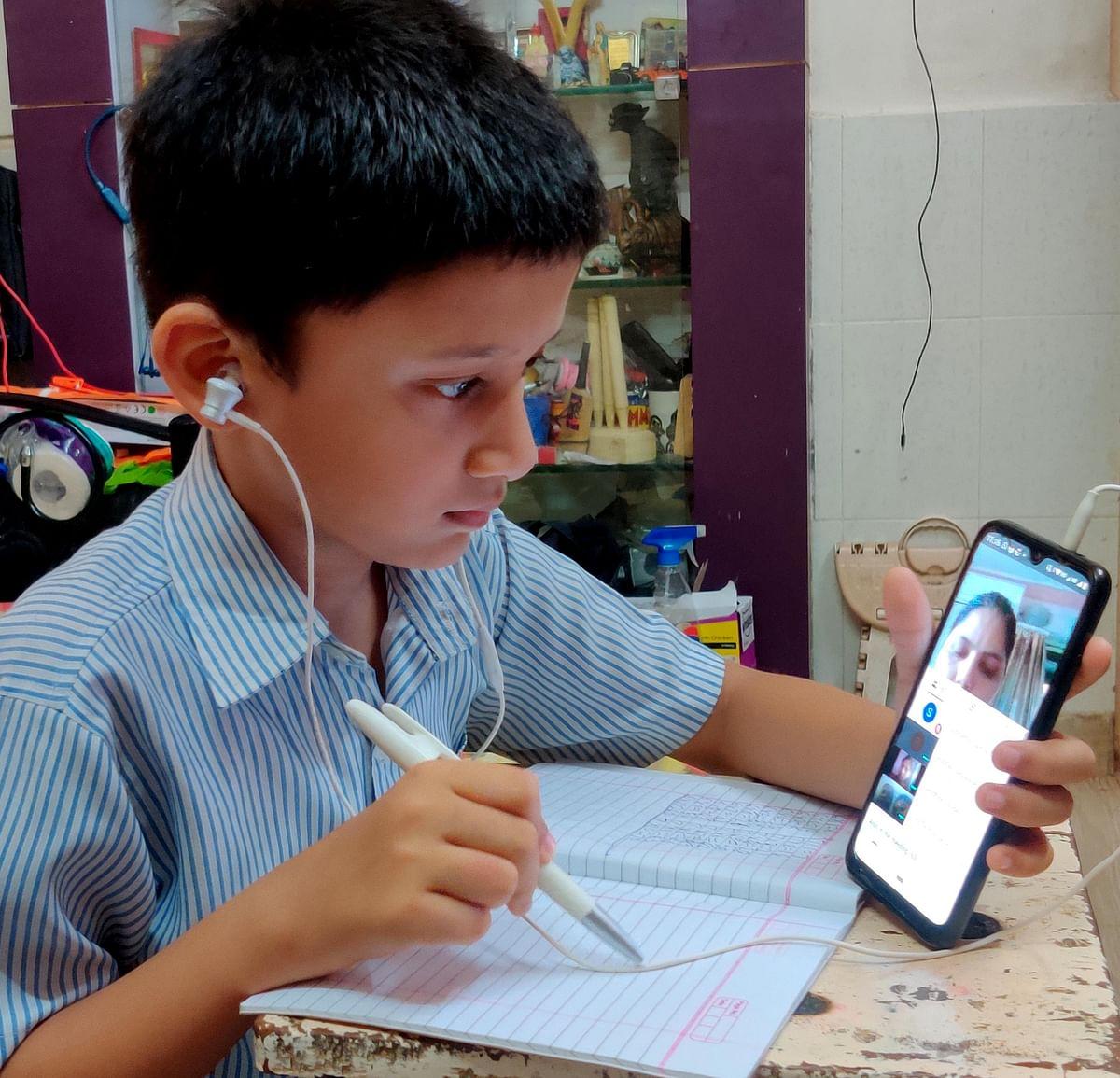 Some BMC teachers teach students even over phone
