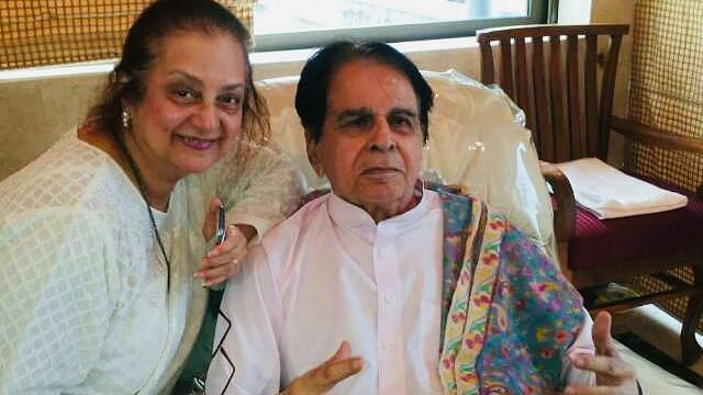 'He is a little weak but otherwise alright': Saira Banu on Dilip Kumar's health update