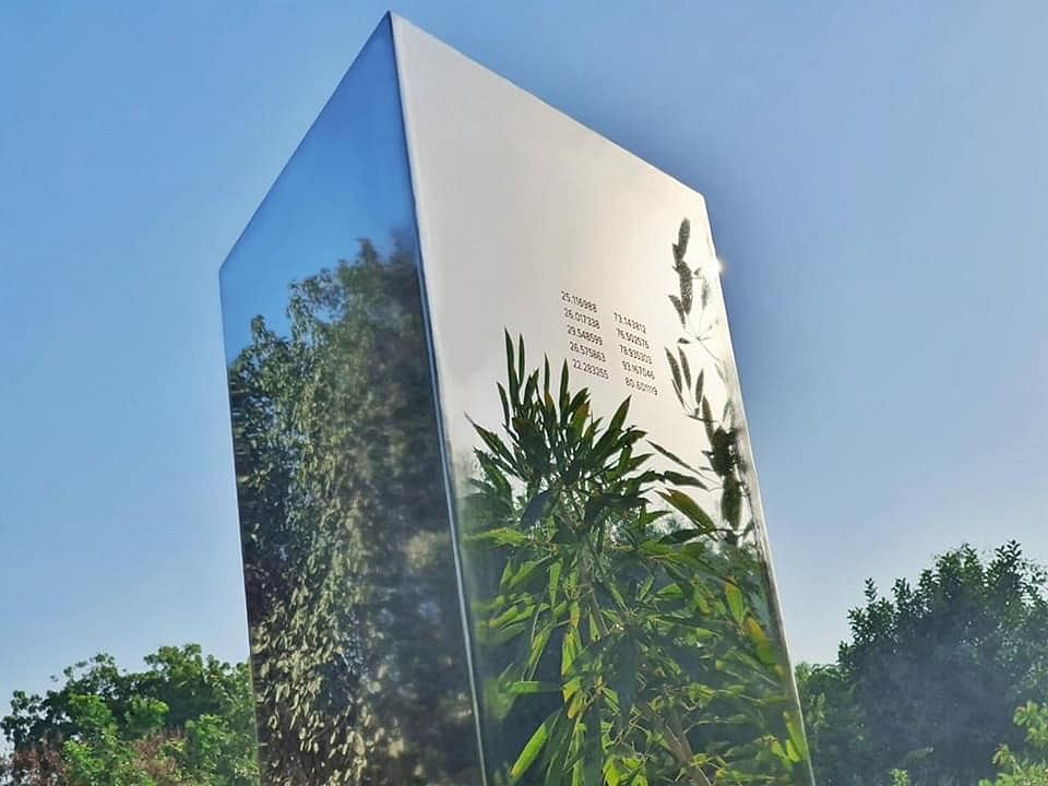 'Mysterious' monolith now appears in India, spotted at Ahmedabad's Symphony Park