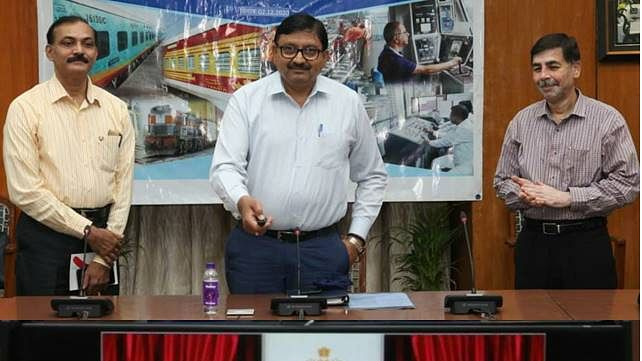 Alok Kansal – General Manager of Western Railway inaugurates RPF's e-patrolling & beat management app