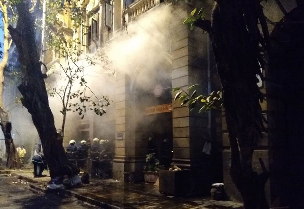 Fire breaks out at Mumbai's iconic Kitab Khana book store