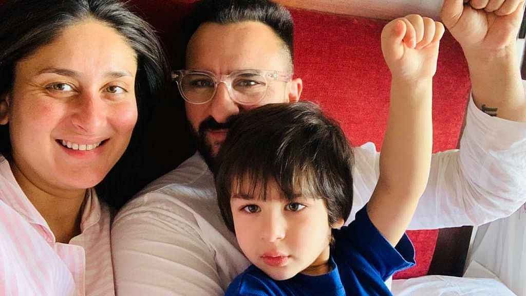 Kareena Kapoor spends last day of 2020 'cuddling' with 'two loves' of her life