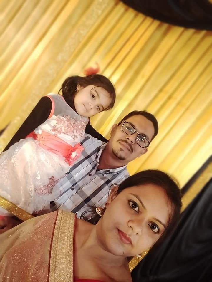 Ruchi David with family