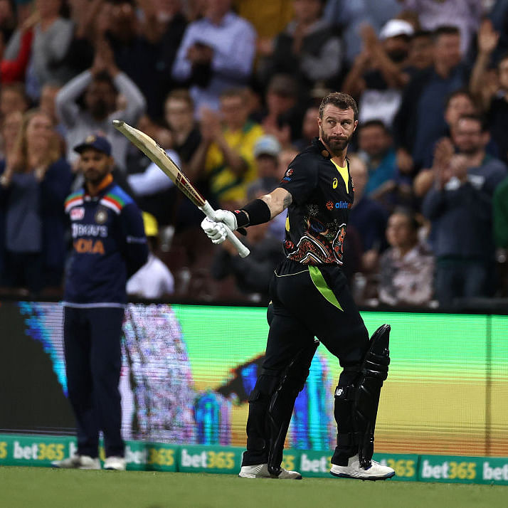 Ind vs Aus 3rd T20I: Wade, Maxwell take Australia to 186/5 vs India