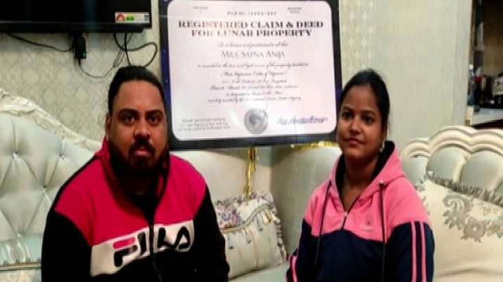Ajmer man gifts plot of land on Moon to wife on wedding anniversary