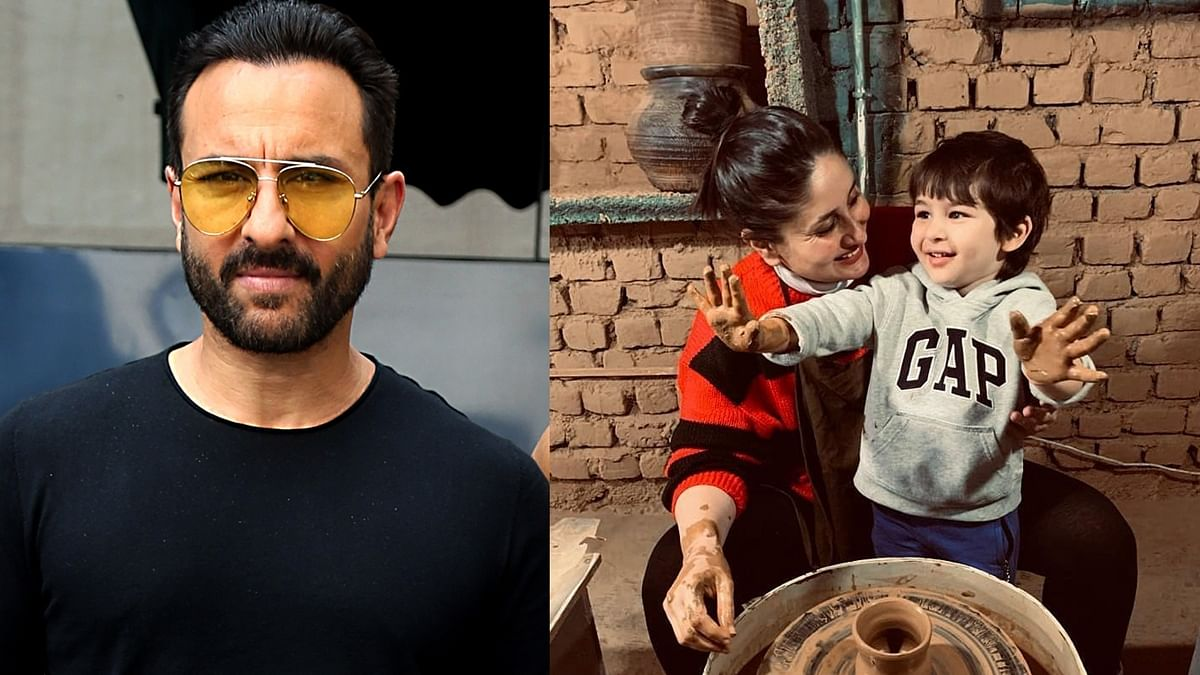 Saif Ali Khan has a savage response to trolls who attacked Kareena and Taimur's pottery class in Dharamshala