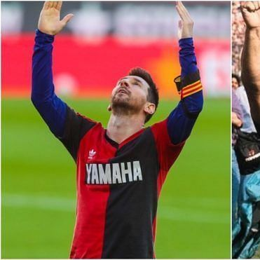 WHAT! Lionel Messi, Barcelona fined nearly Rs 70,000 for his on-field tribute to Diego Maradona