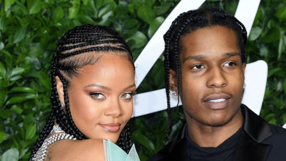 Rihanna spotted holding hands with A$AP Rocky in Barbados