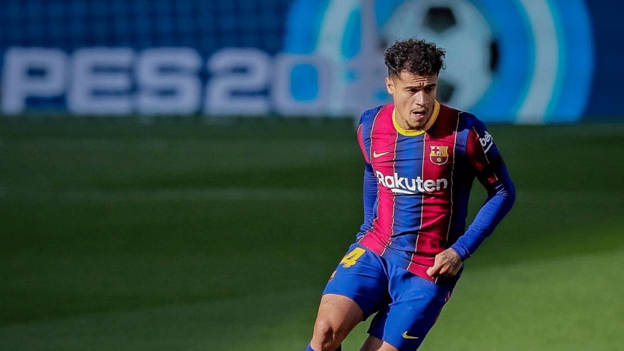 Barcelona's seasonal crisis worsens as midfielder Coutinho ruled out for 8-10 weeks due to injury