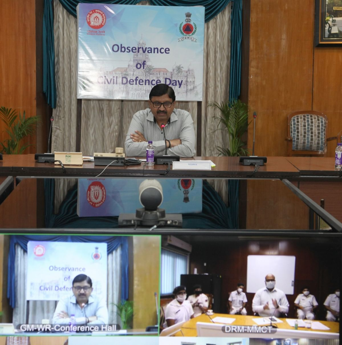 Western Railway observes Civil Defence Day with re-iteration of commitment to serve nation & society