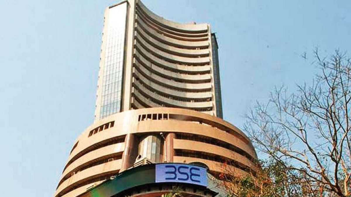 Sensex scales new high, up 403 points; Nifty closes at 13,683