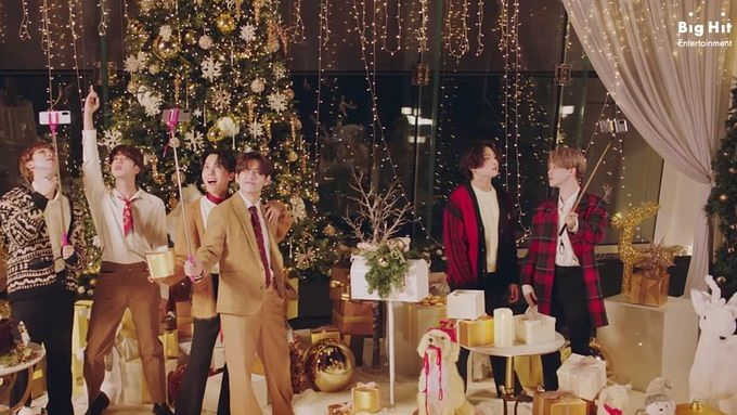 'Best Christmas gift ever': K-pop band BTS' special gift to their ARMY is all about holiday cheer