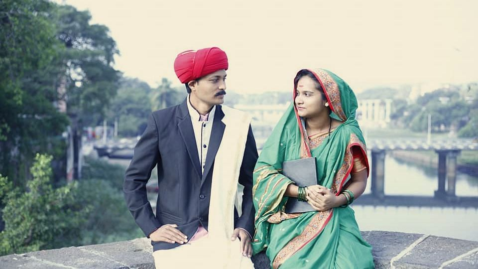Tribute to icons: Couple's themed pre-wedding photoshoot dedicated to Savitribai and Jyotiba Phule is winning the internet