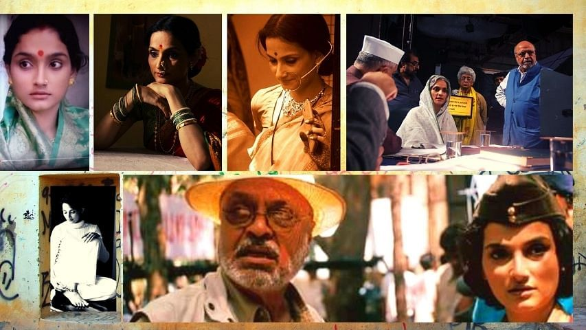 She has played on stage, in films and on television, girl and women characters of admirable stature: Rajeshwari Sachdev