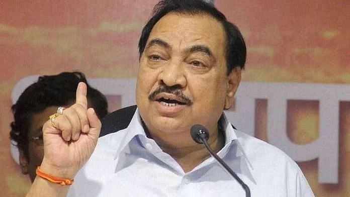 Citing COVID-19 symptoms, Eknath Khadse seeks 15 days to appear before ED in Pune land deal case