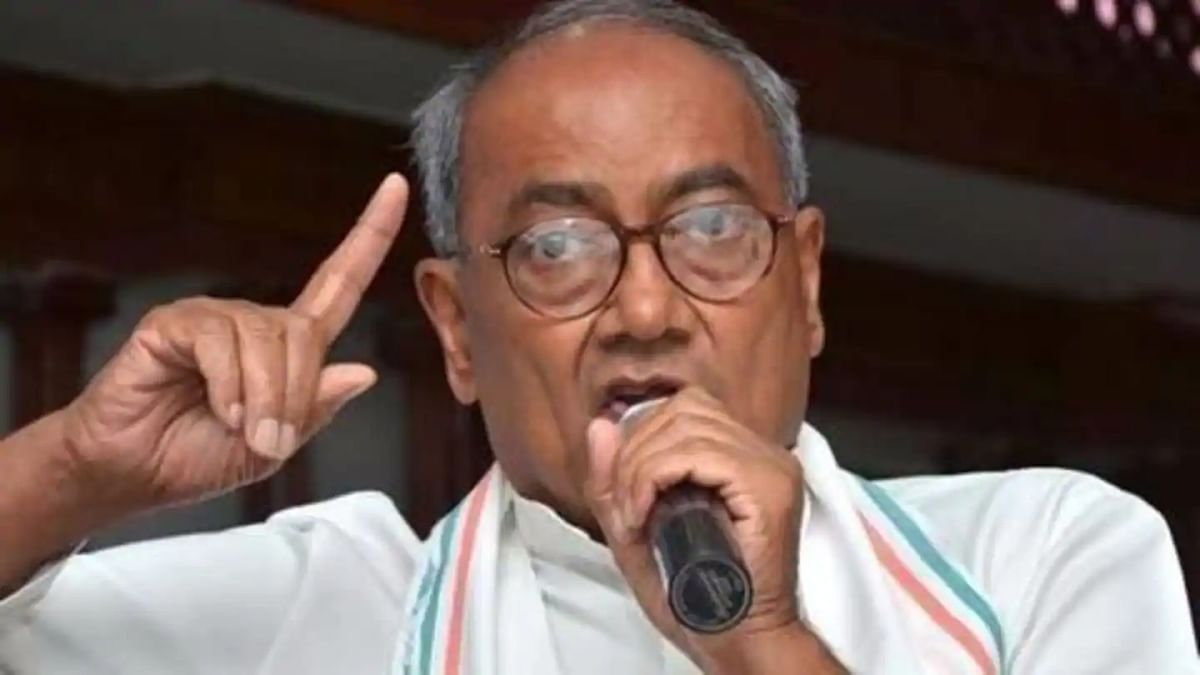 Congress party leader Digvijaya Singh