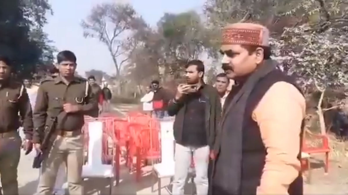UP: BJP MLA creates ruckus for not being invited to foundation laying ceremony