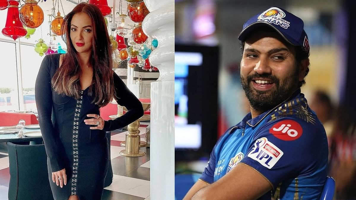 How is Sohail Khan's 'Fabulous Wife' Seema Khan related to cricketer Rohit Sharma?