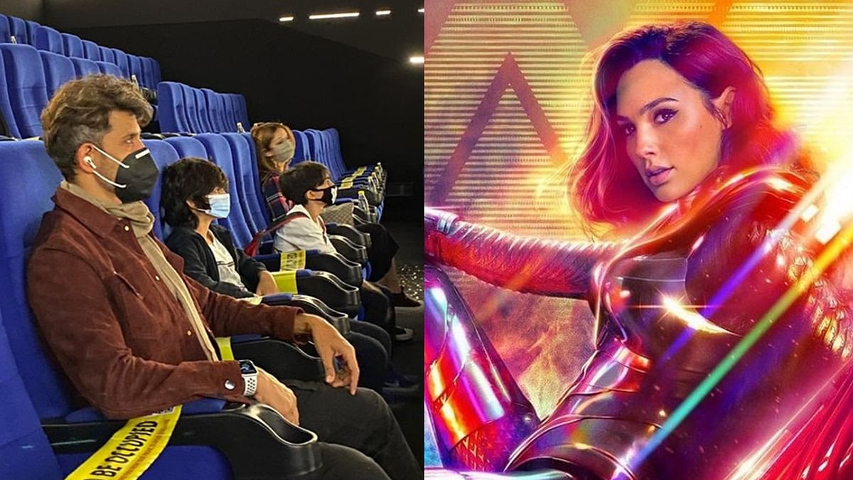 Check out Gal Gadot's adorable reaction after Hrithik Roshan praises her performance in 'Wonder Woman 1984'