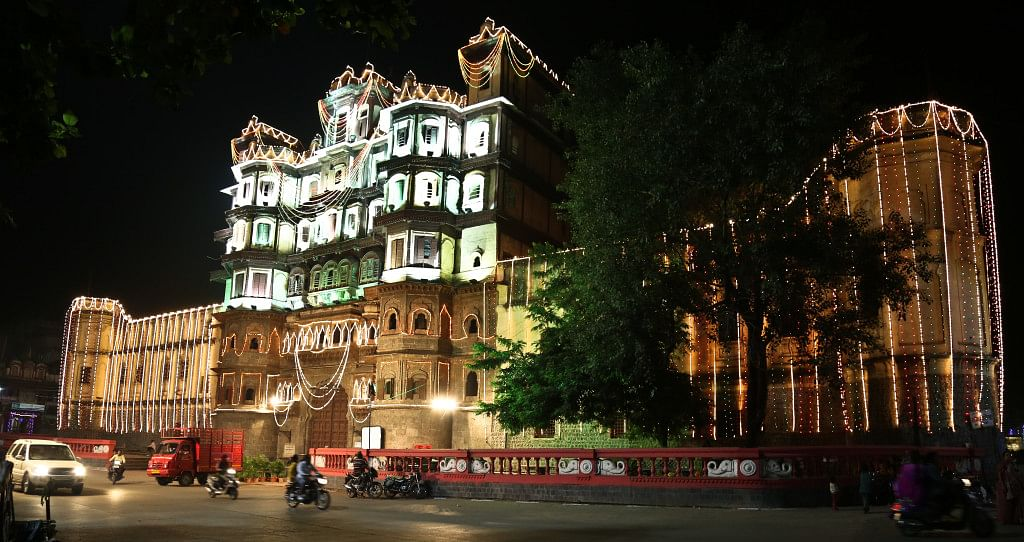 Iconic Rajwada palace, Indore