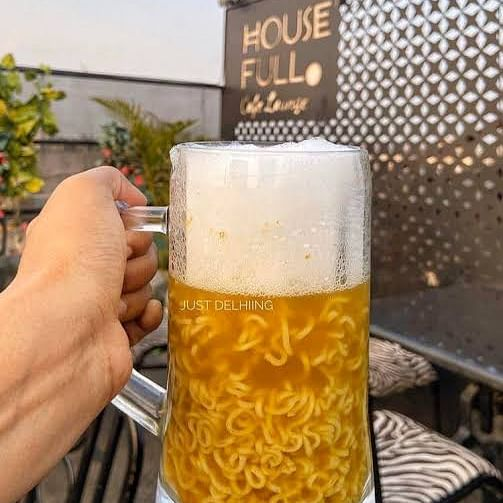 '2020 abhi bhi baaki hai': Netizens react to Delhi café's 'outlandish' Beer Maggi
