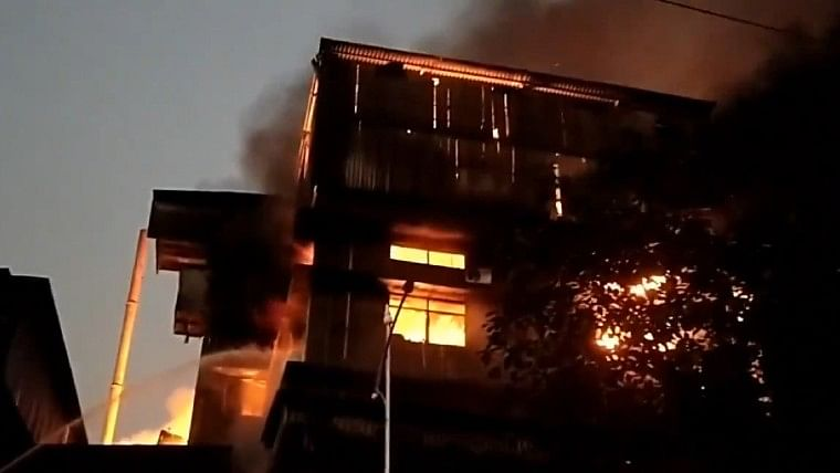 Thane: Major fire in Dombivli MIDC area, no casualty reported; watch video