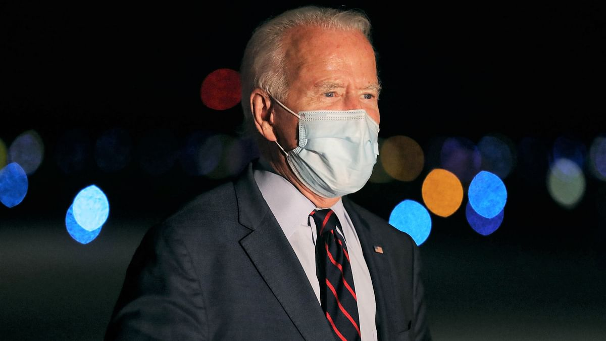 100 masked days under President Joe Biden