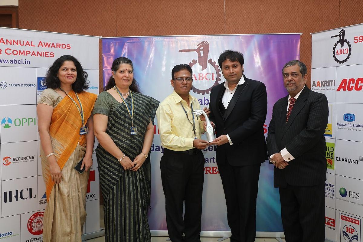 Life Insurance Corporation (LIC) wins an award