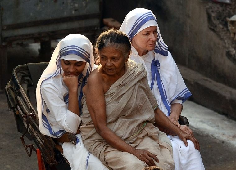 FPJ Exclusive: See pics from the set of 'Kavita and Teresa', a film inspired by Mother Teresa's life