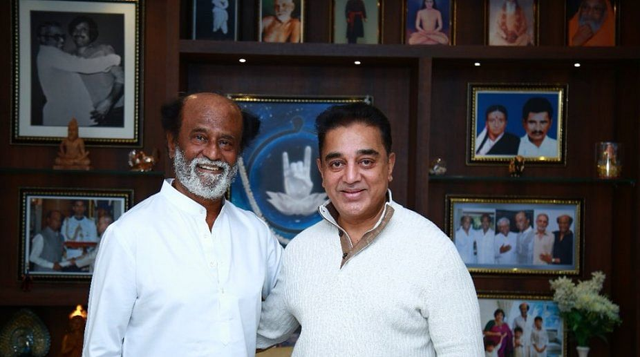 Kamal Haasan 'disappointed' as Rajinikanth decides not to enter politics, says 'his health is important to me'