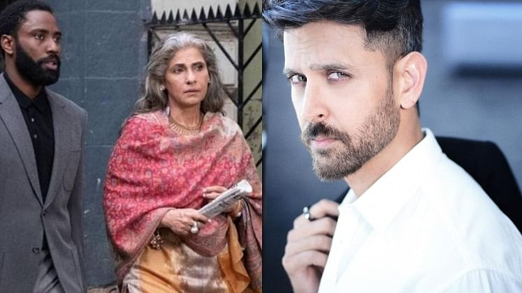 Hrithik Roshan praises Dimple Kapadia for her performance in Christopher Nolan film, says 'go see Tenet for HER'