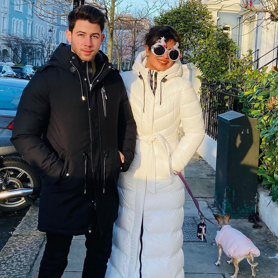 Priyanka Chopra channels 'Christmas spirit' with husband Nick Jonas in latest post