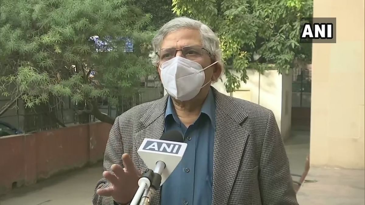 Farmers' Protest: Joint delegation of Opposition parties to meet President Kovind tomorrow, says Sitaram Yechury